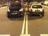 """Coches mal aparcados en la """"Calle del Froiz"""""""