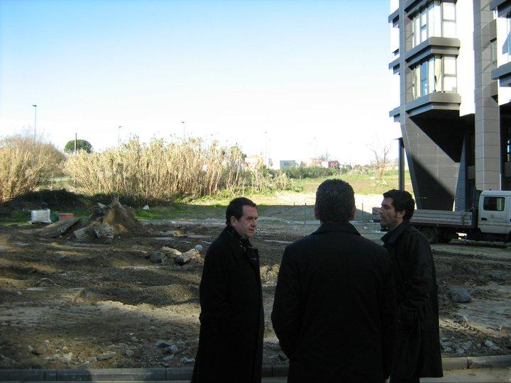 Visita del alcalde a Navia 3/2/11