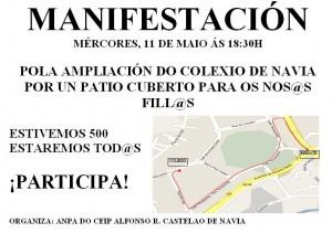 Cartel Manifestación 11/Mayo/2011