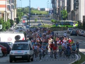Foto edición anterior marcha ciclista Navia