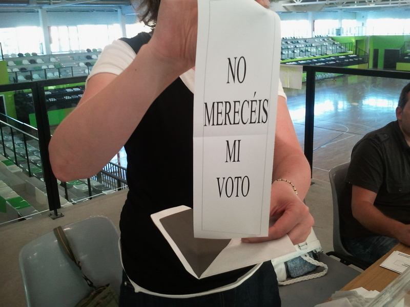 Otro Voto Nulo en la Mesa U