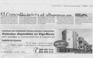 Publicidad Rabo de Galo en La Voz el 8/10/11