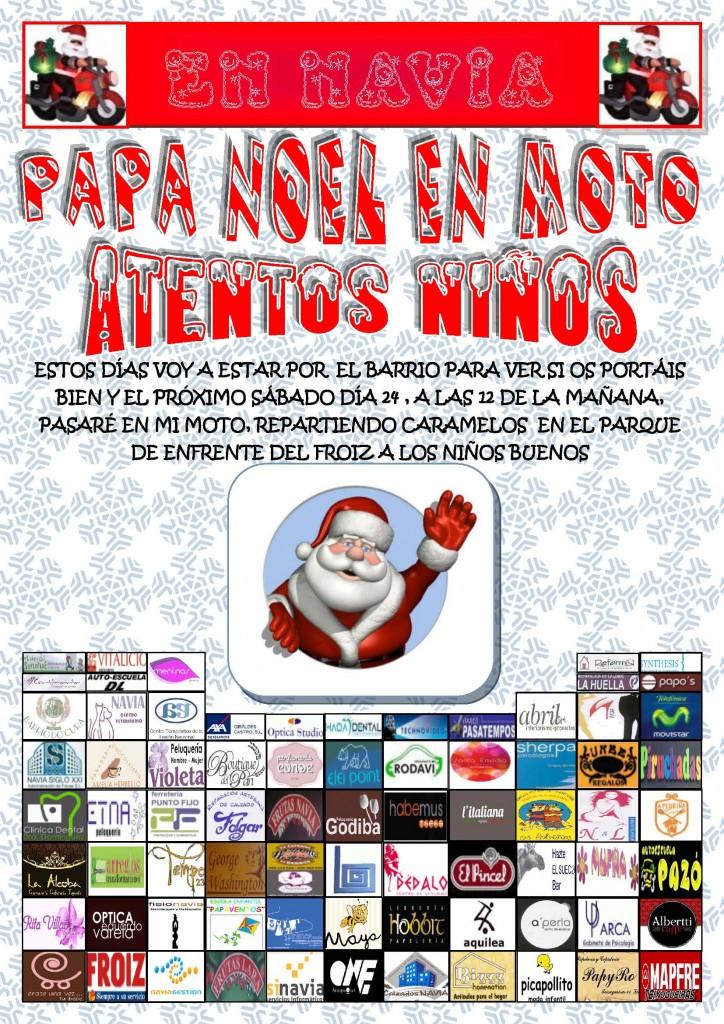 Visita Papa Noel Navia
