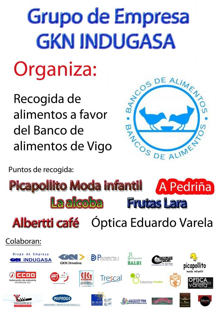 Recogida Solidaria Navia Banco de Alimentos de Vigo