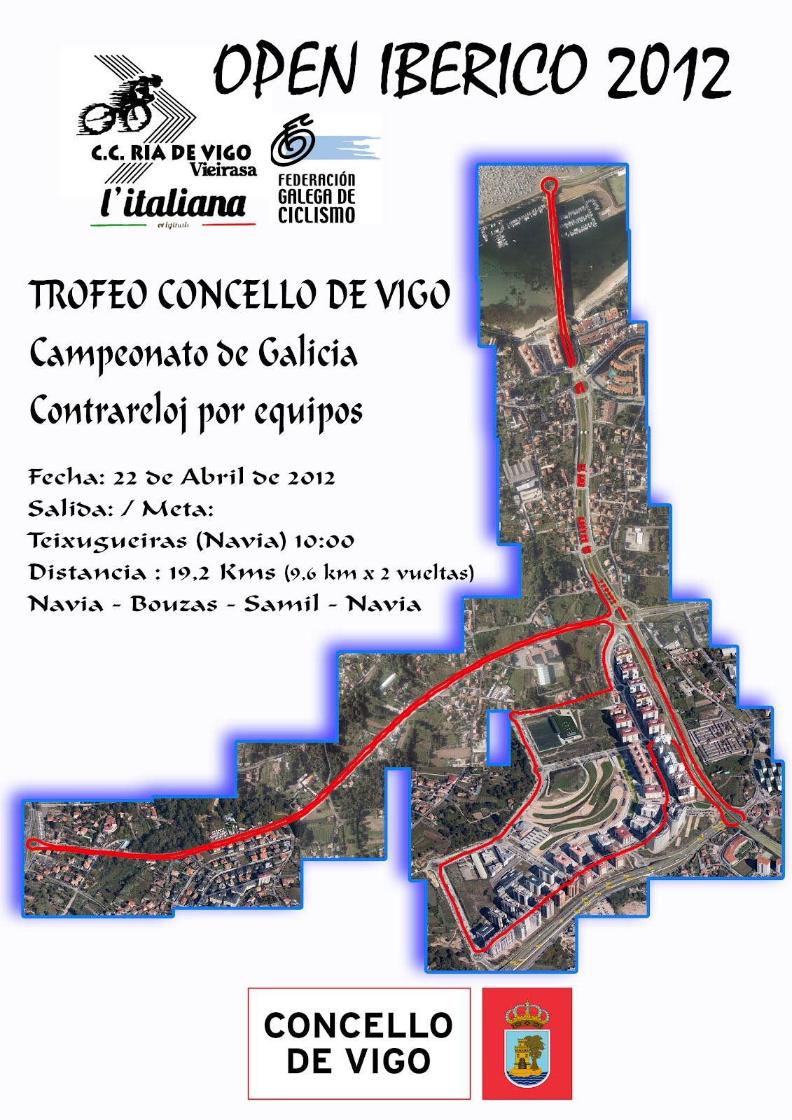 Trofeo Concello de Vigo 2012 - Campeonato Gallego de Contrareloj Máster