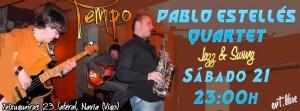 Tempo 23 Pablo Estellés Quartet 21/12/13
