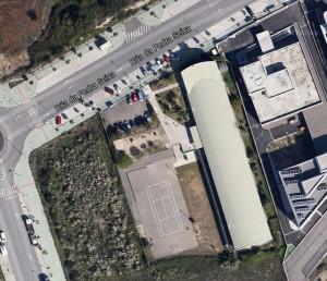 Colegio Alfonso Rodríguez Castelao. Vista Satélite.
