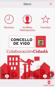 App Colaboración Ciudadana Vigo