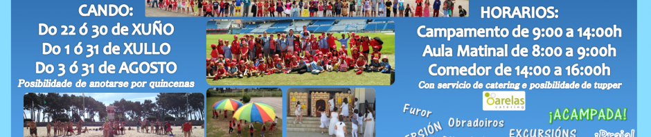 Cartel Campamento Navia 2015