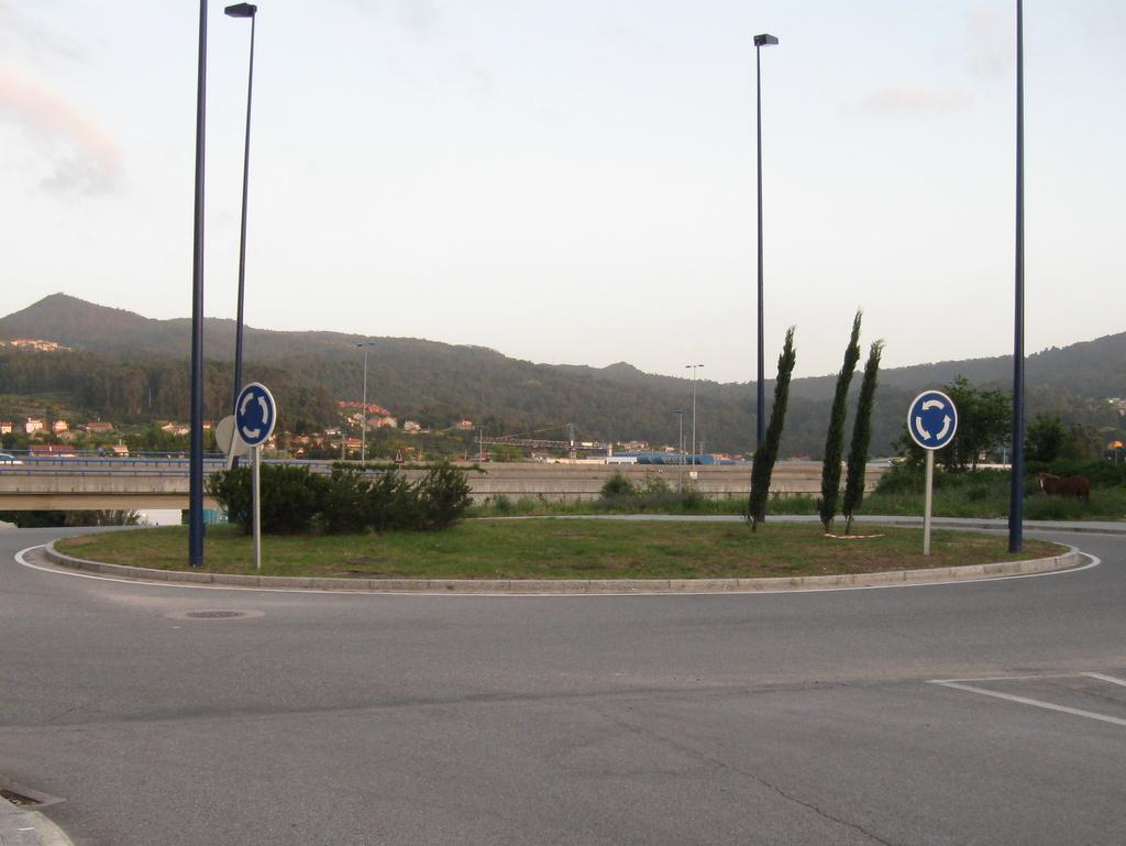 Rotonda, antes de los barcos