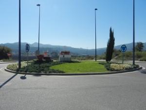 Vista de la rotonda desde Ufas